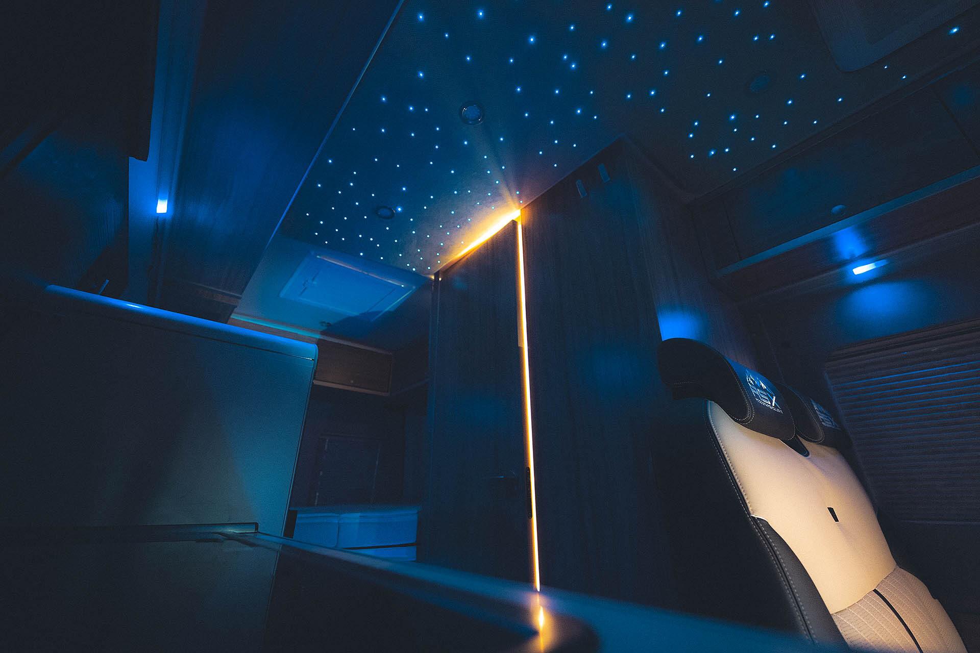 LED-Himmel steuerbar