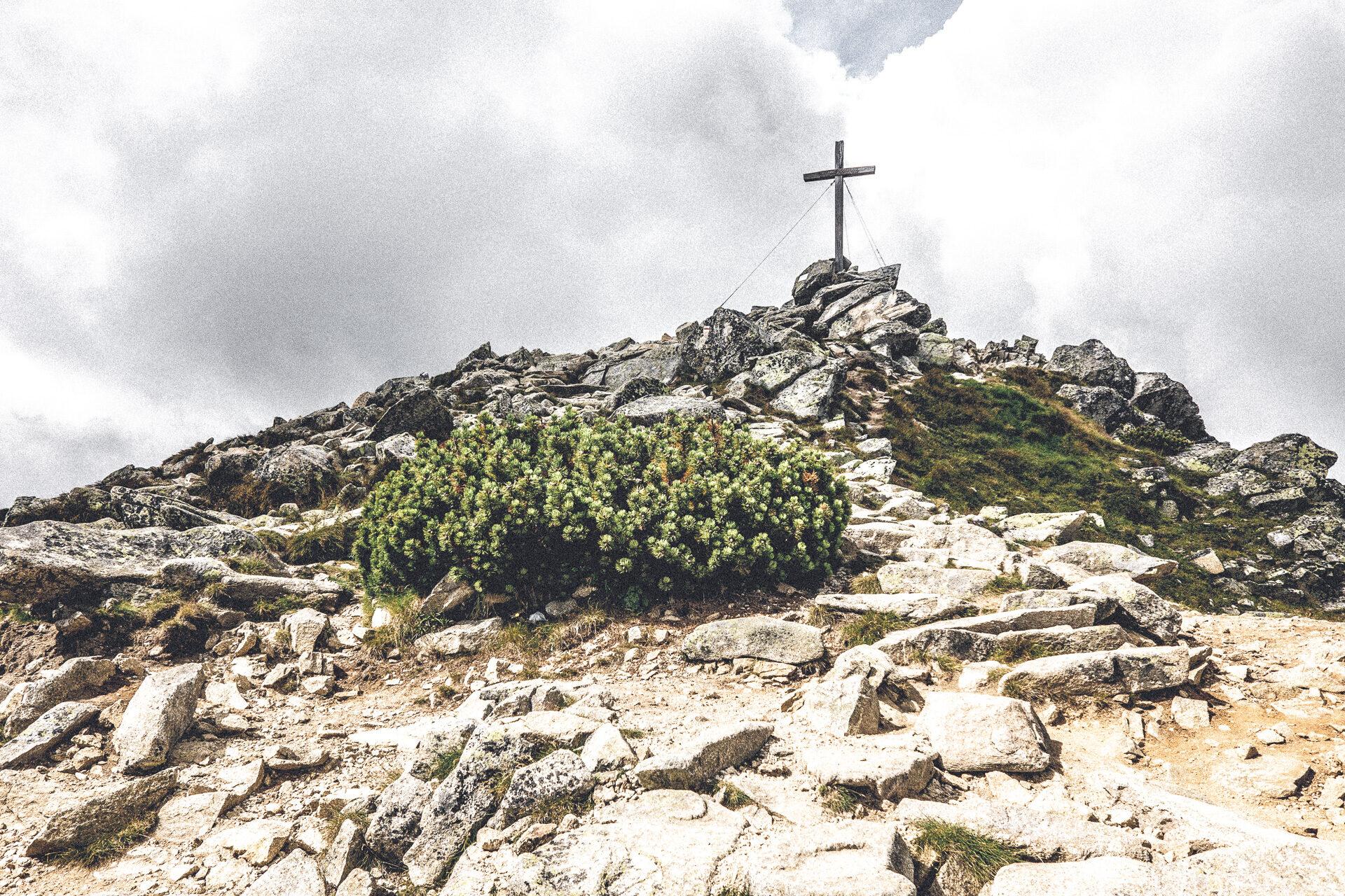 Gipfelkreuz Predne Solisko