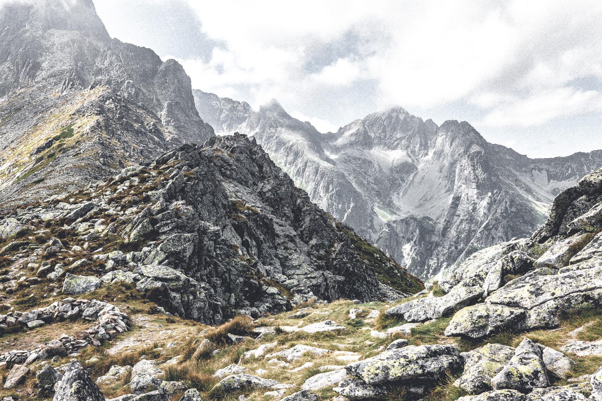 Ein irrer Kammblick in der Hohen Tatra