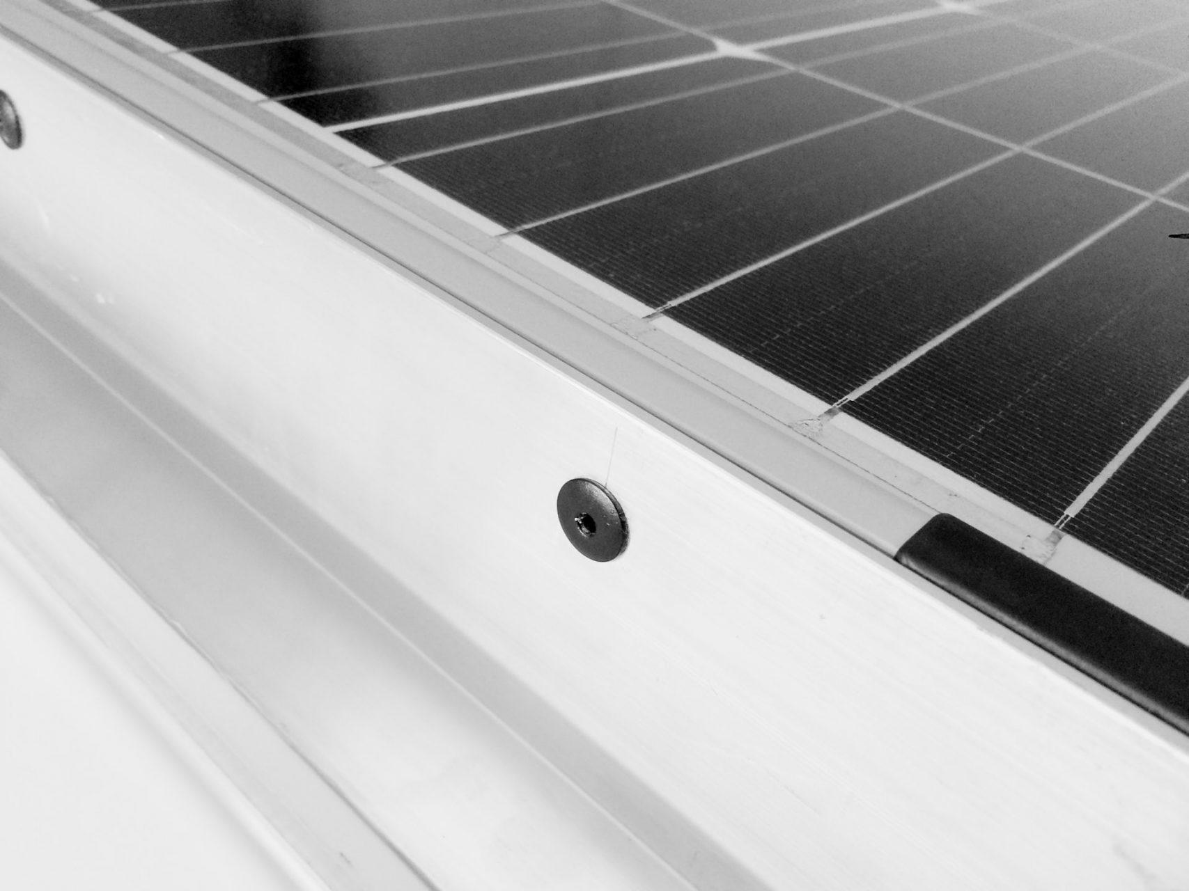 Solarpanel genietet