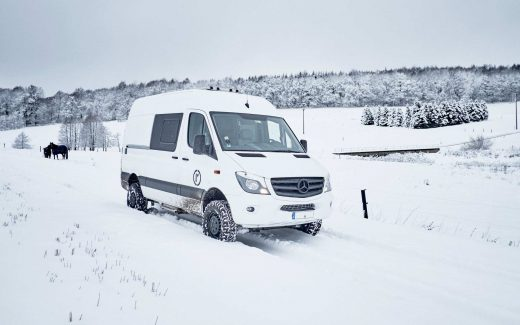 Erfahrungen Hymer Grand Canyon S im Winter