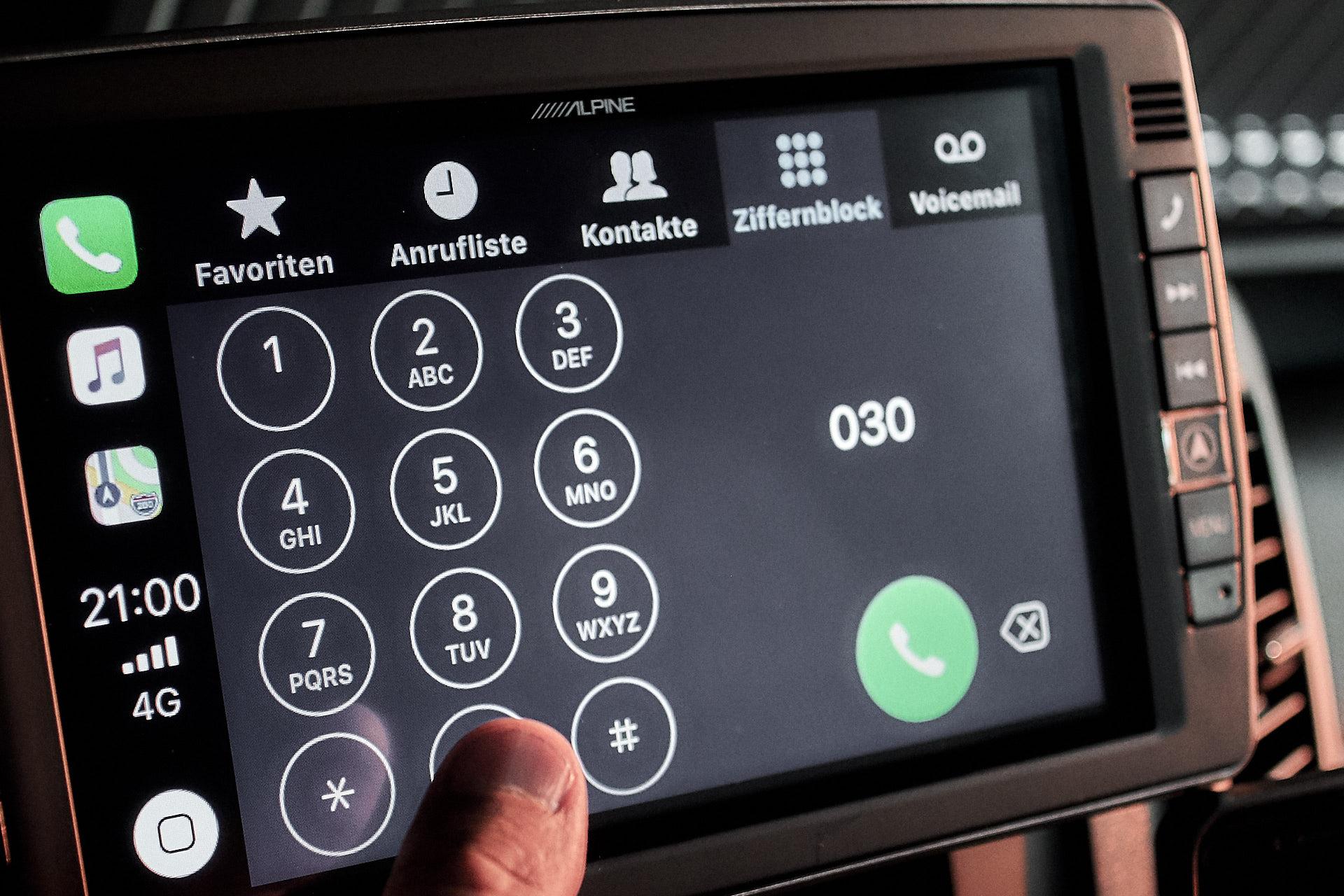 9-Zoll – Touchscreen-Bildschirm