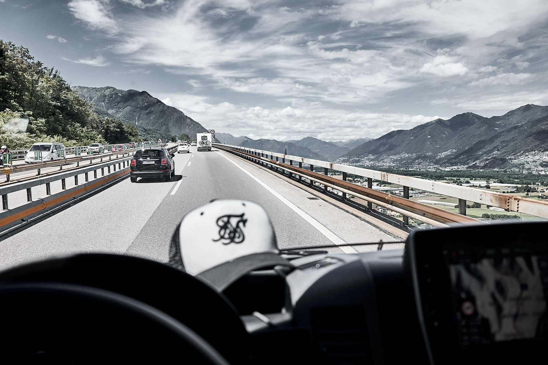 Richtung Genua