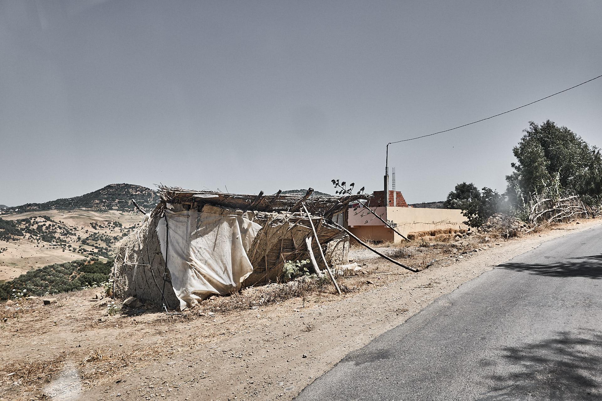 "Bewohntes ""Haus"" in Marokko"