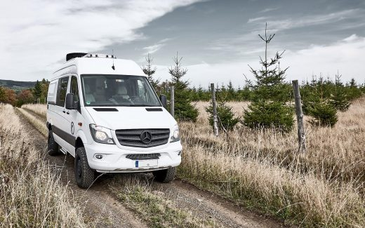 Schnelle Umbauten am Hymer Grand Canyon S