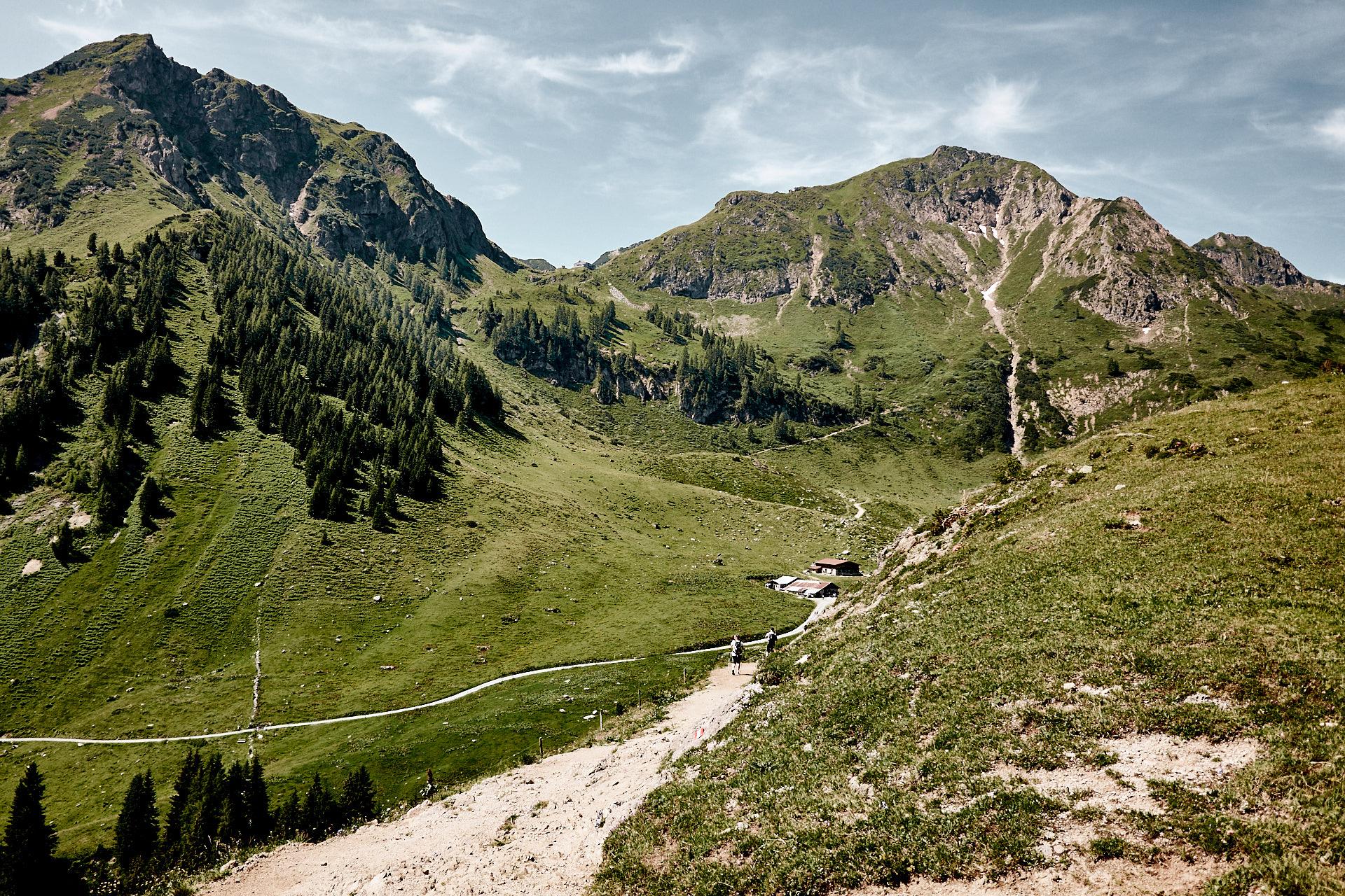 Wanderweg zum Wildseeloder