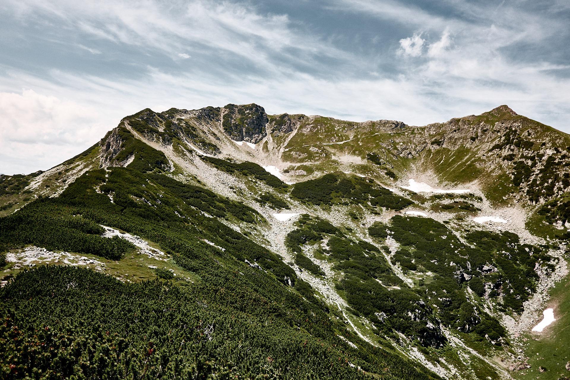 """Blick von der """"Henne"""", Alpen, Tirol"""