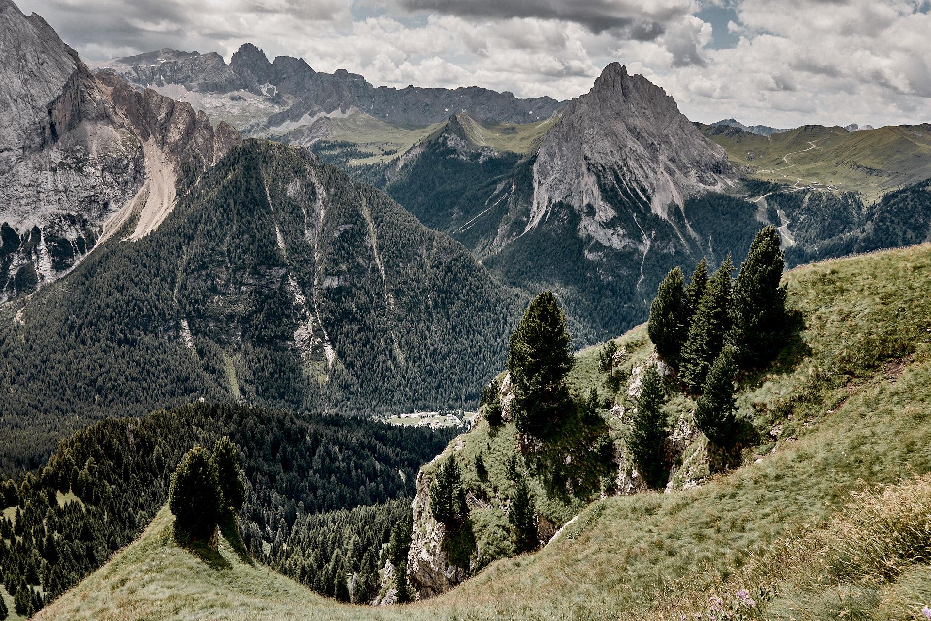 Alpenpässe zu Fuss