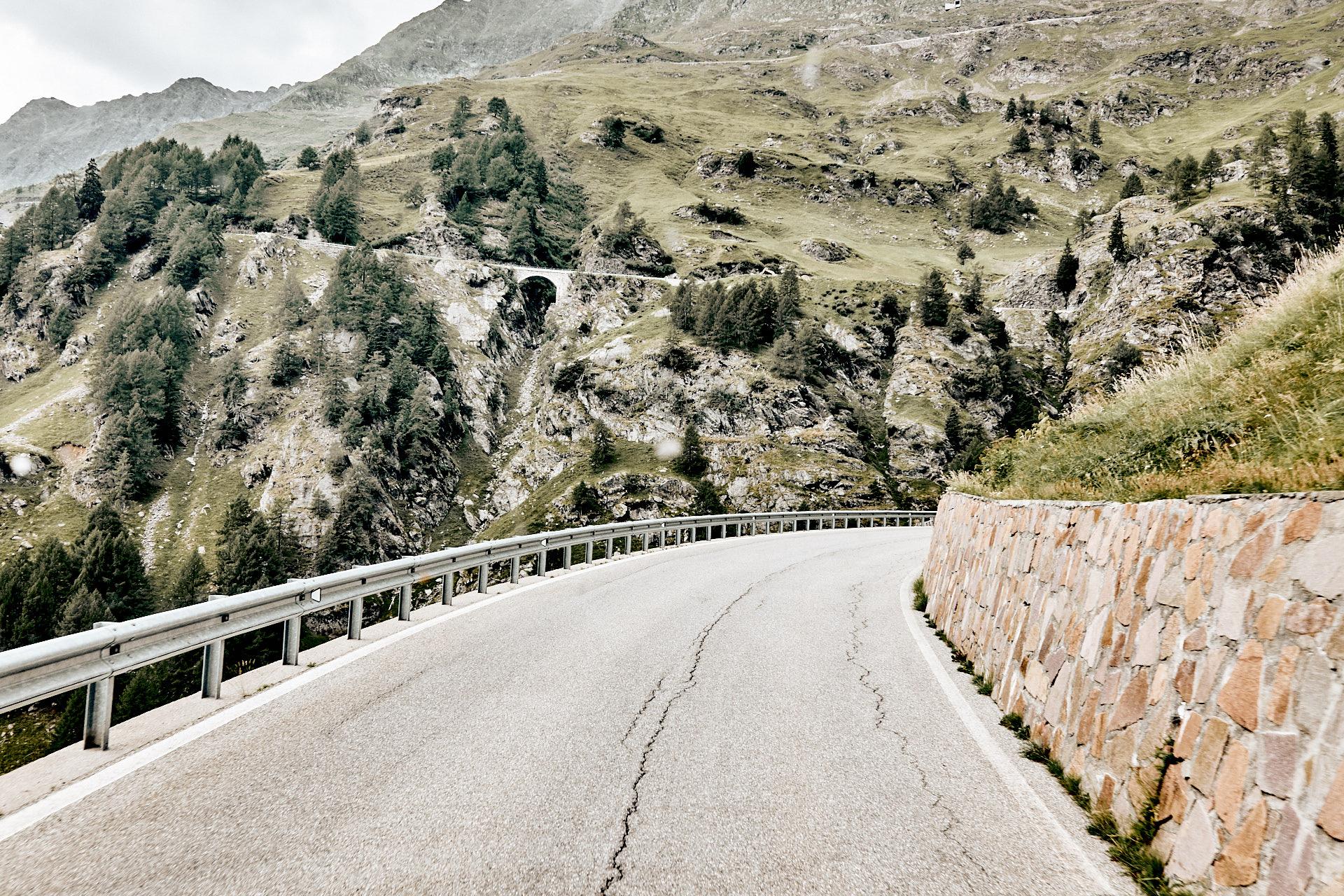 Alpenpassreise mit dem Wohnmobil