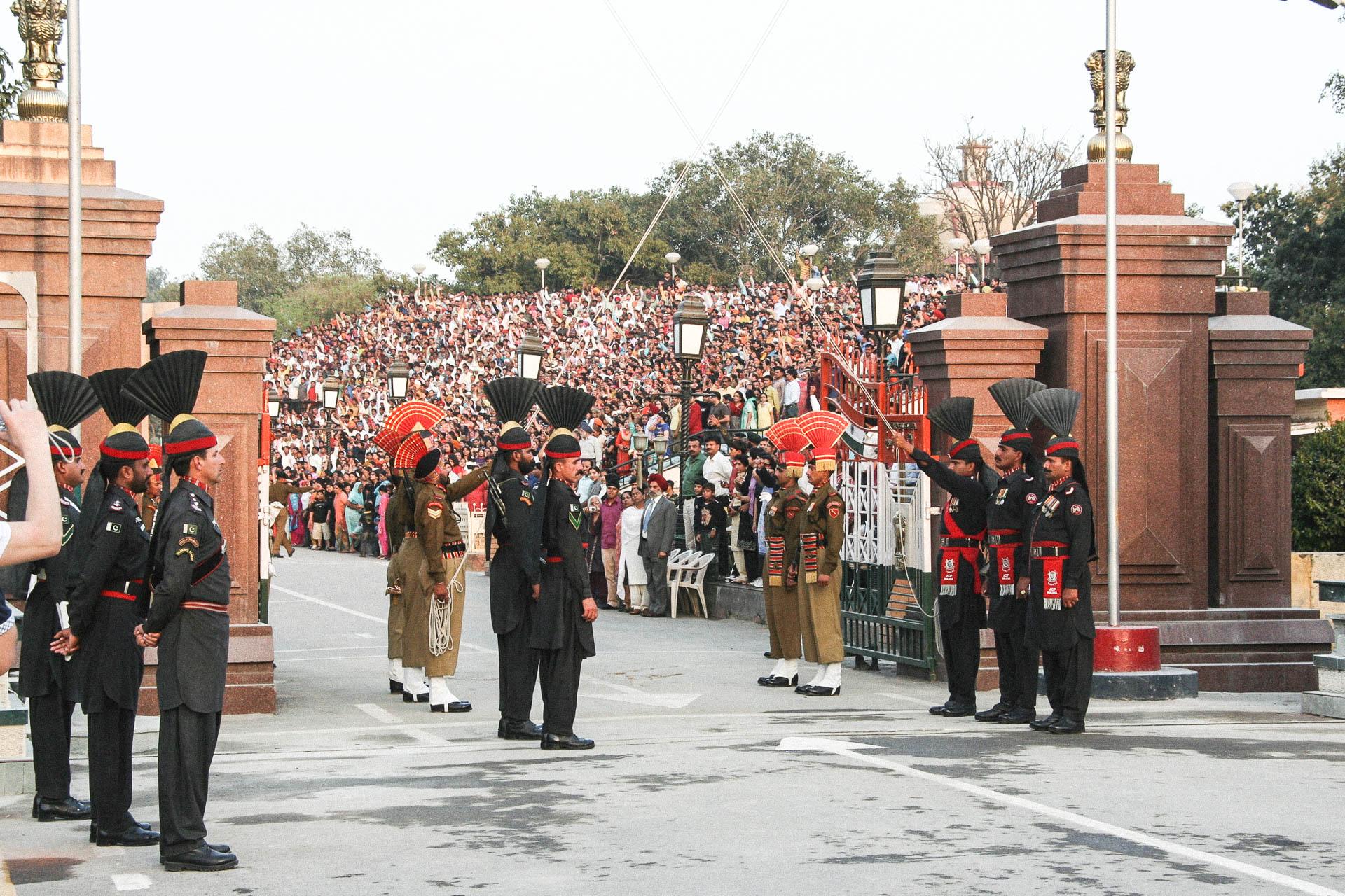 Offizielle Feier in Pakistan