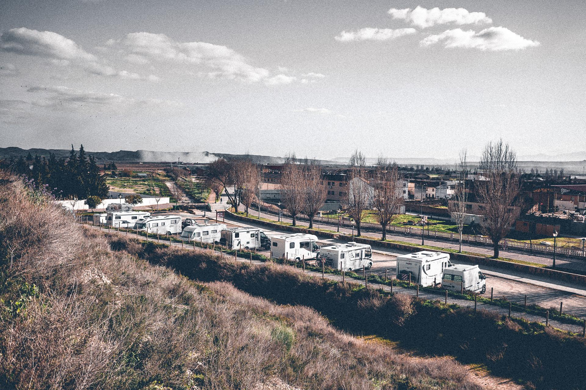 Wohnmobilstellplatz in Arguedas