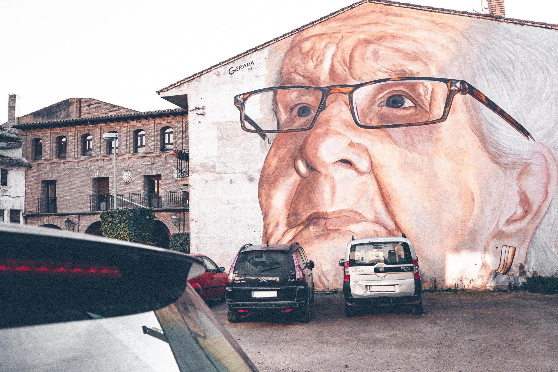 Streetart in Arguedas