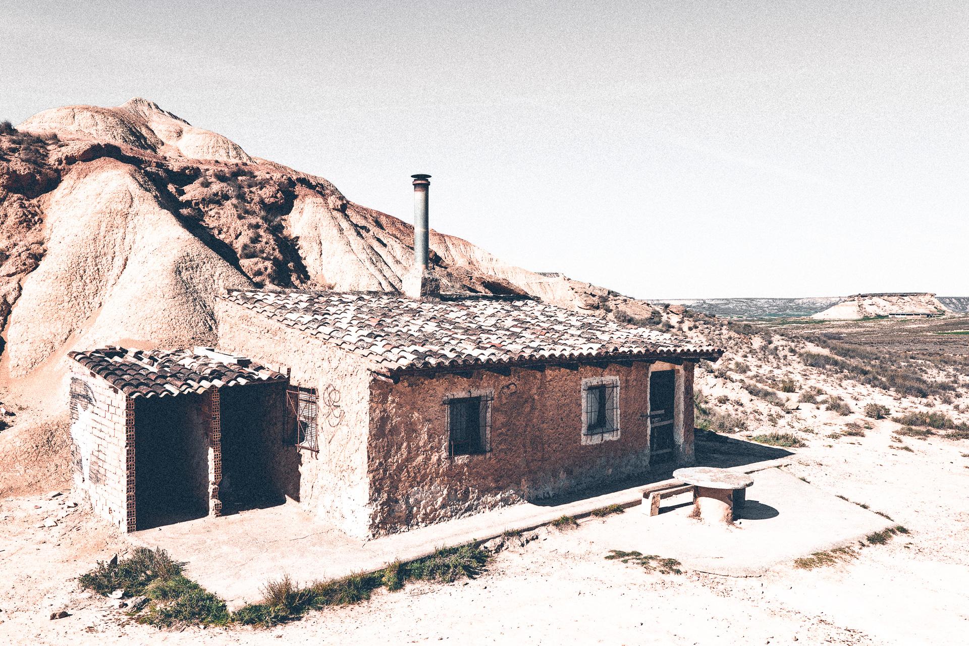 Bauernhaus in der Halbwüste
