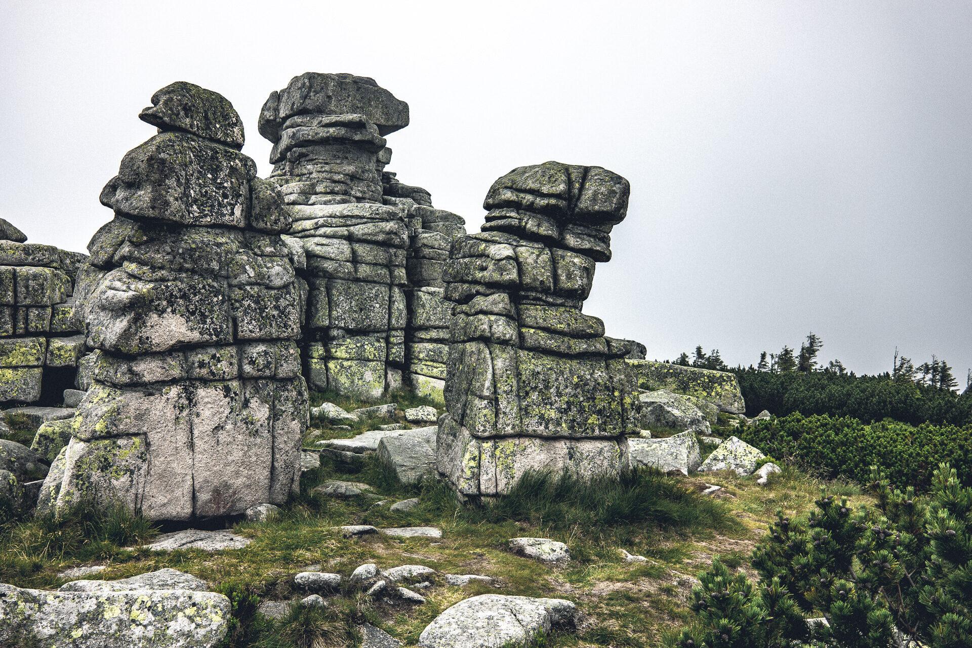 Mädelsteine im Riesengebirge