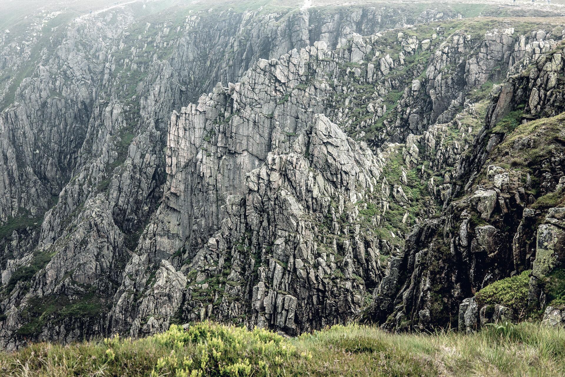 Felsen im Riesengebirge