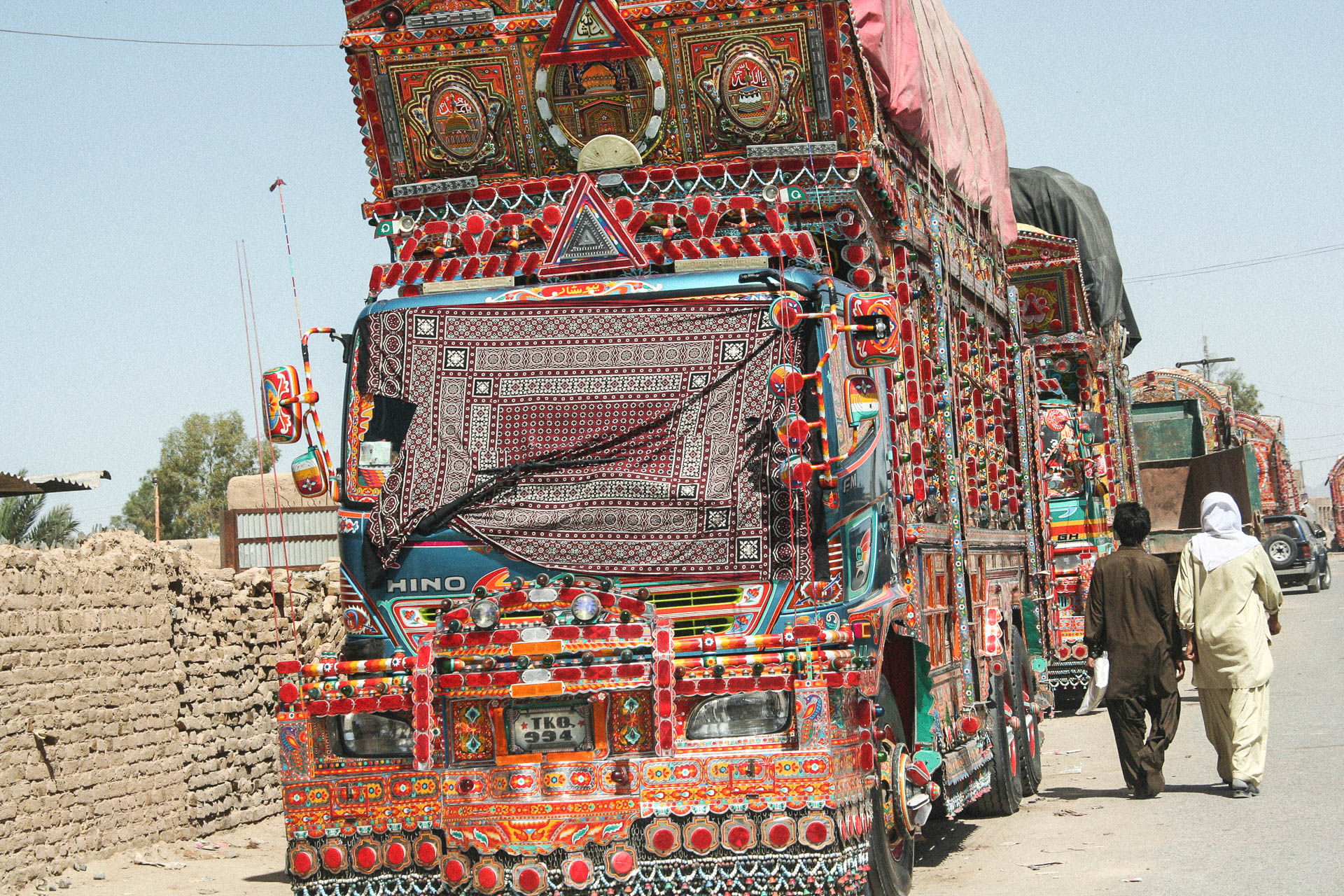Pakistanischer Truck