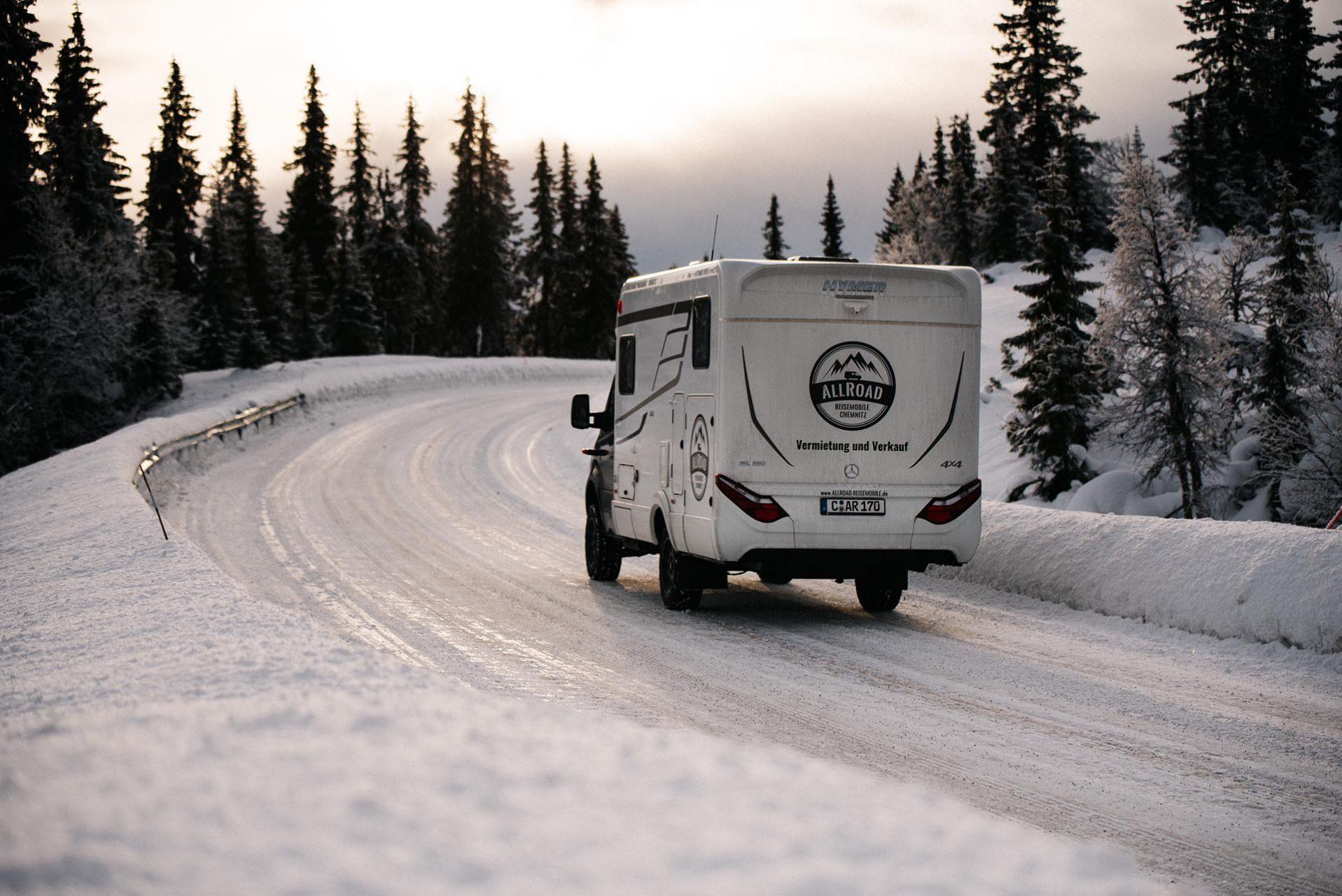 AllRoad Reisemobile Chemnitz in Norwegen