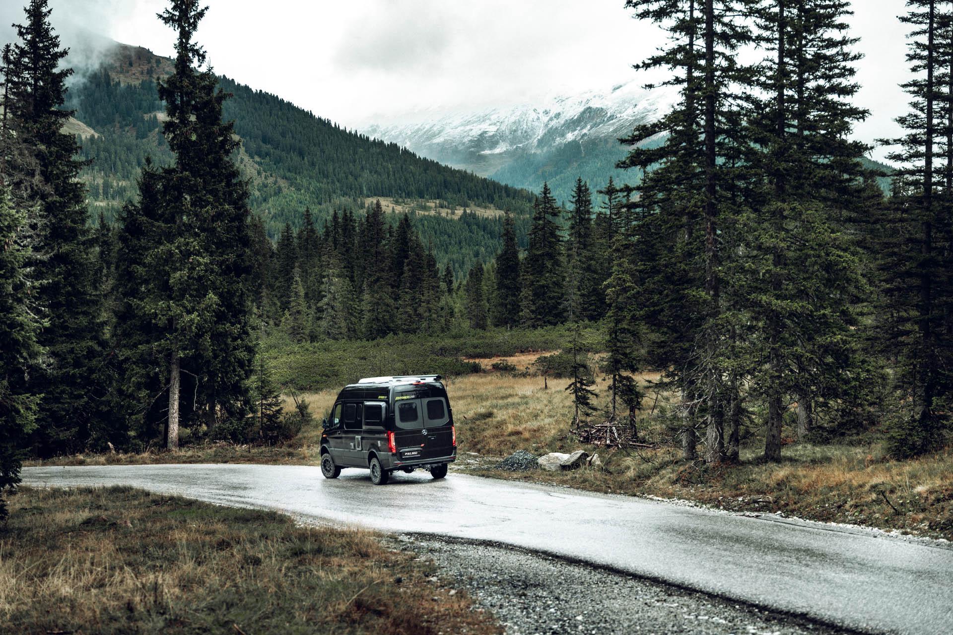 RSX-Edition von Palmo beim Fotoshooting in den Alpen