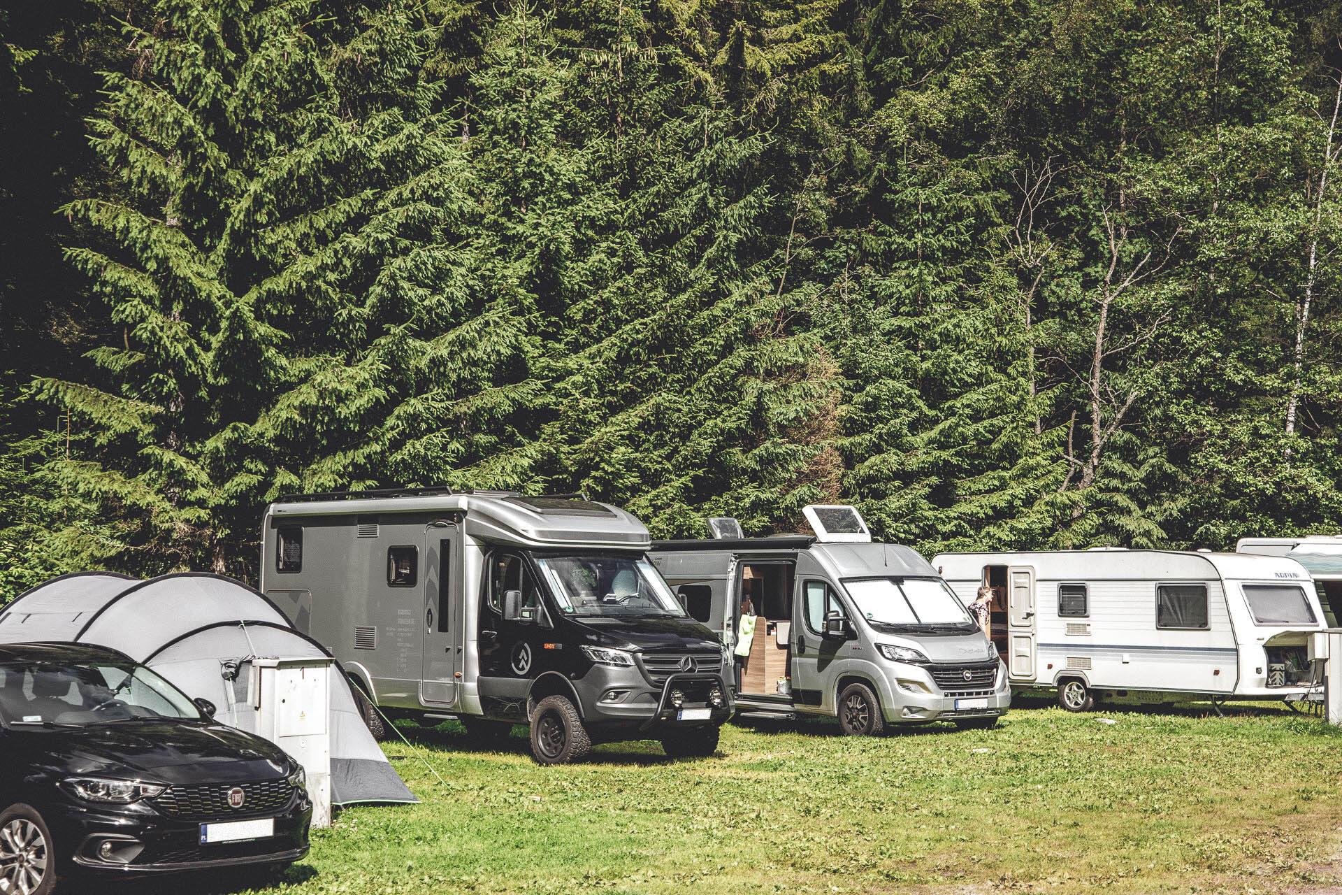 Autokempink KRNAP, Campingplatz, Spindlermühle, Tschechien