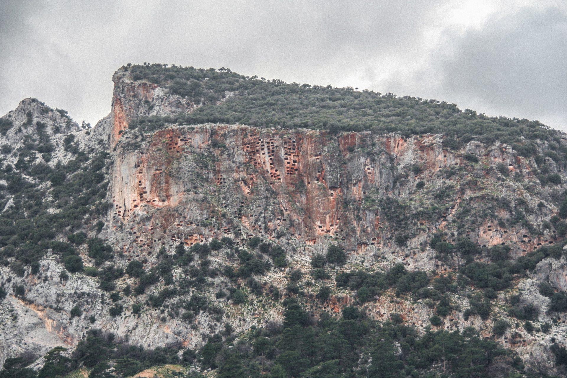 Felsengräber von Pinara, Türkei