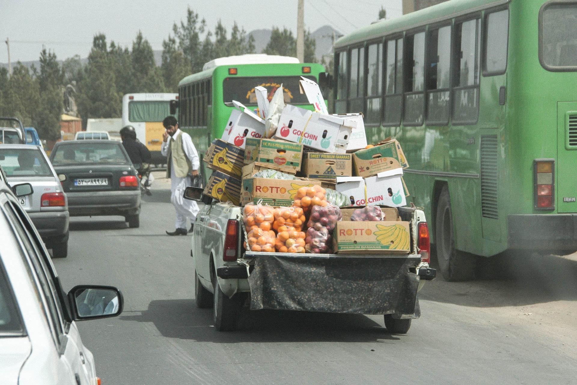 Gemüsehändler unterwegs