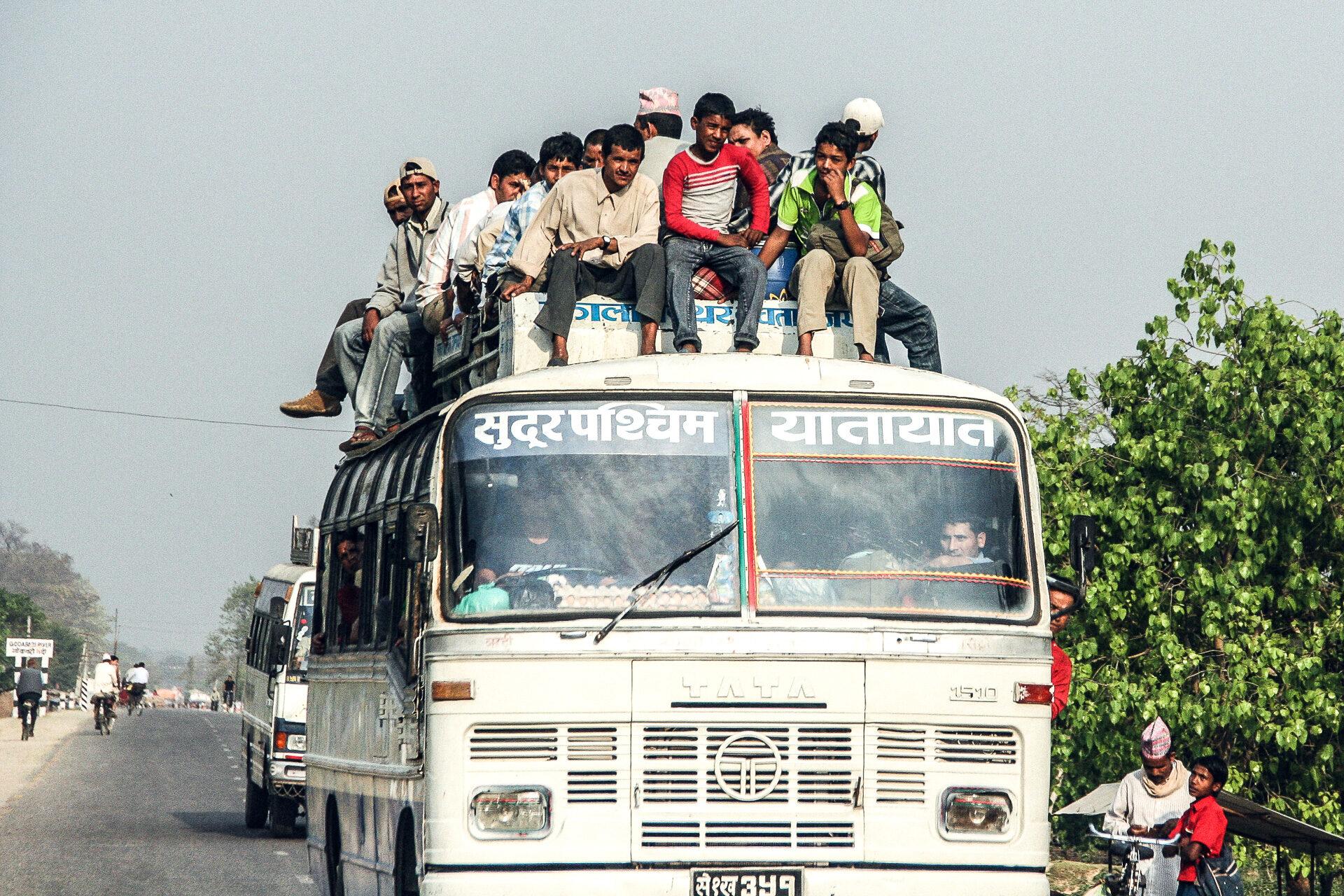 Bus in Indien