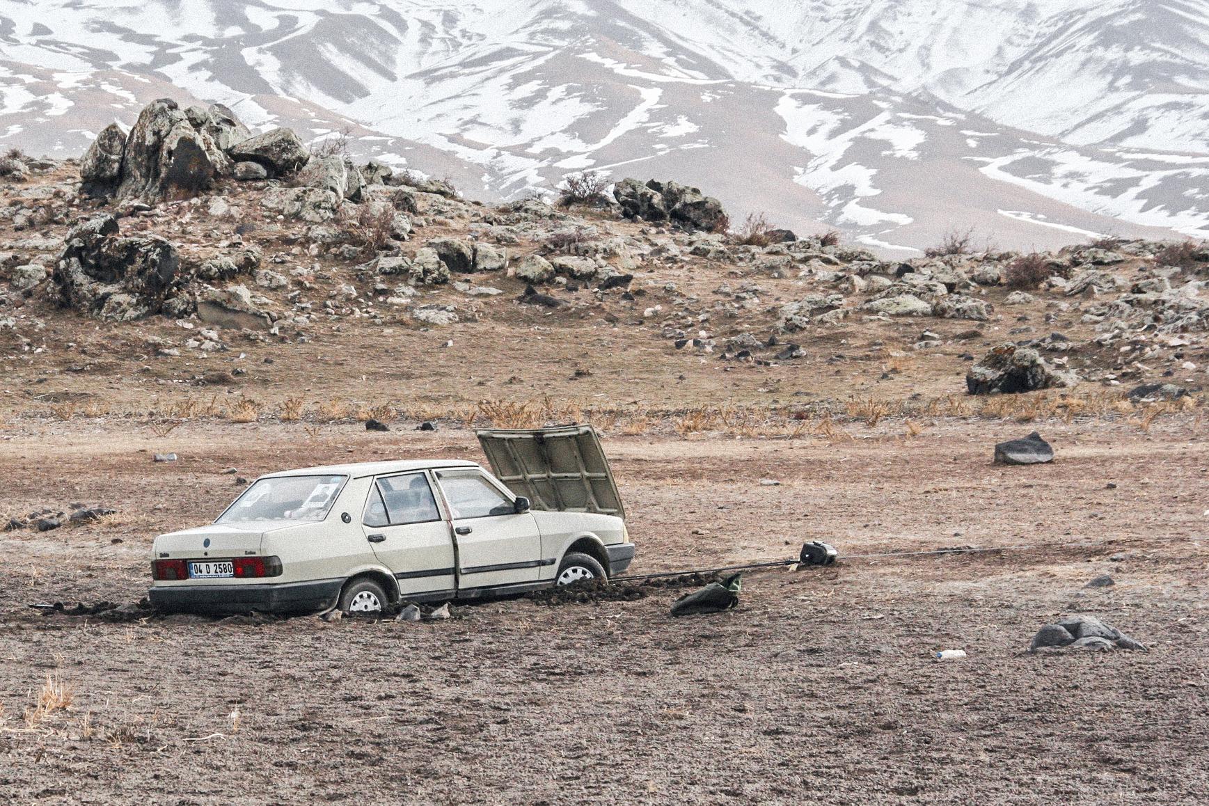 Wir wollten helfen! In den Ausläufern des Mt. Ararat, Türkei