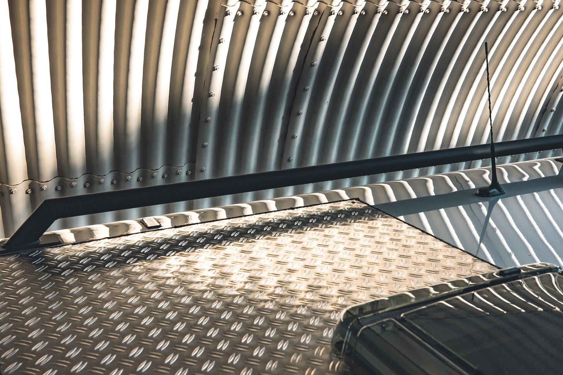 Dachreling auf Sprinter Hymer ML-T 580 4x4
