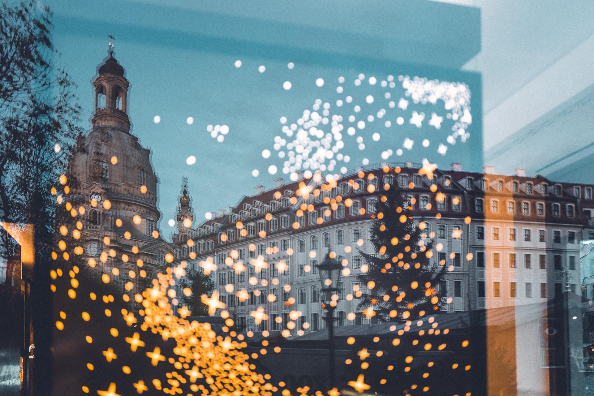 Dresden im Winter mit dem Wohnmobil
