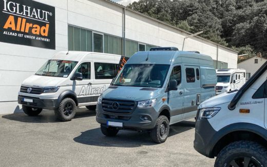 Hymer Grand Canyon S 4x4 Wilma bei Iglhaut Allrad