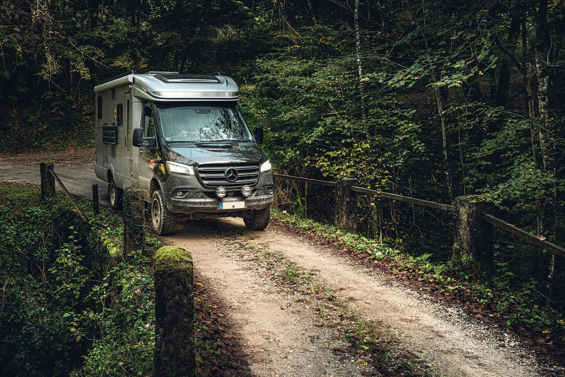 Hymer MLT 580 4x4, Offroad-Reisemobil oder eben Weissware im Dschungel-Camp