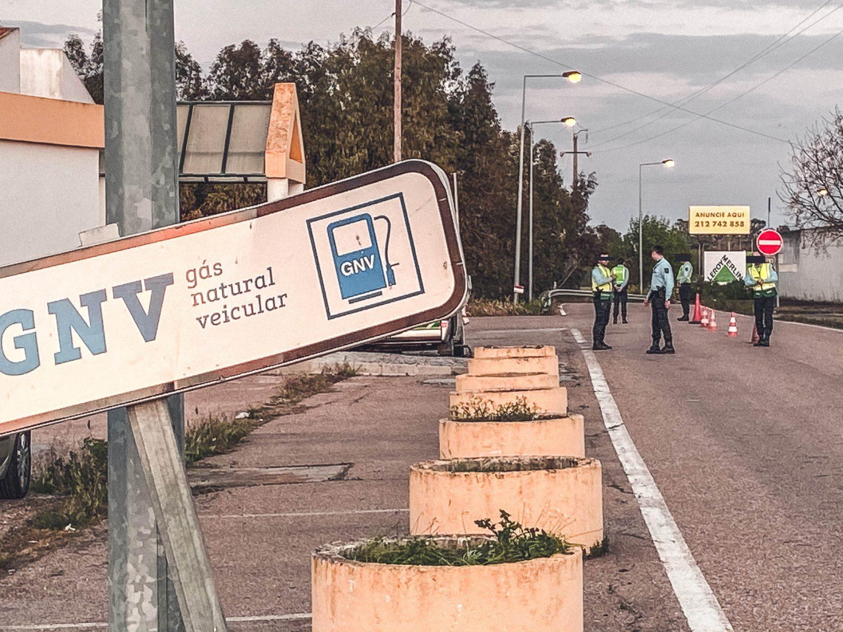 Grenzsperrung Portugal/Spanien …