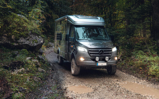 Offroad Reisemobil für Weltreise Hymer ML-T 580 4x4