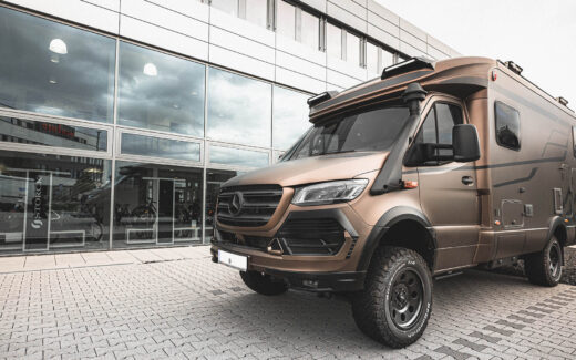 One Of Seven - Hymer MLT 580 4x4 RSX