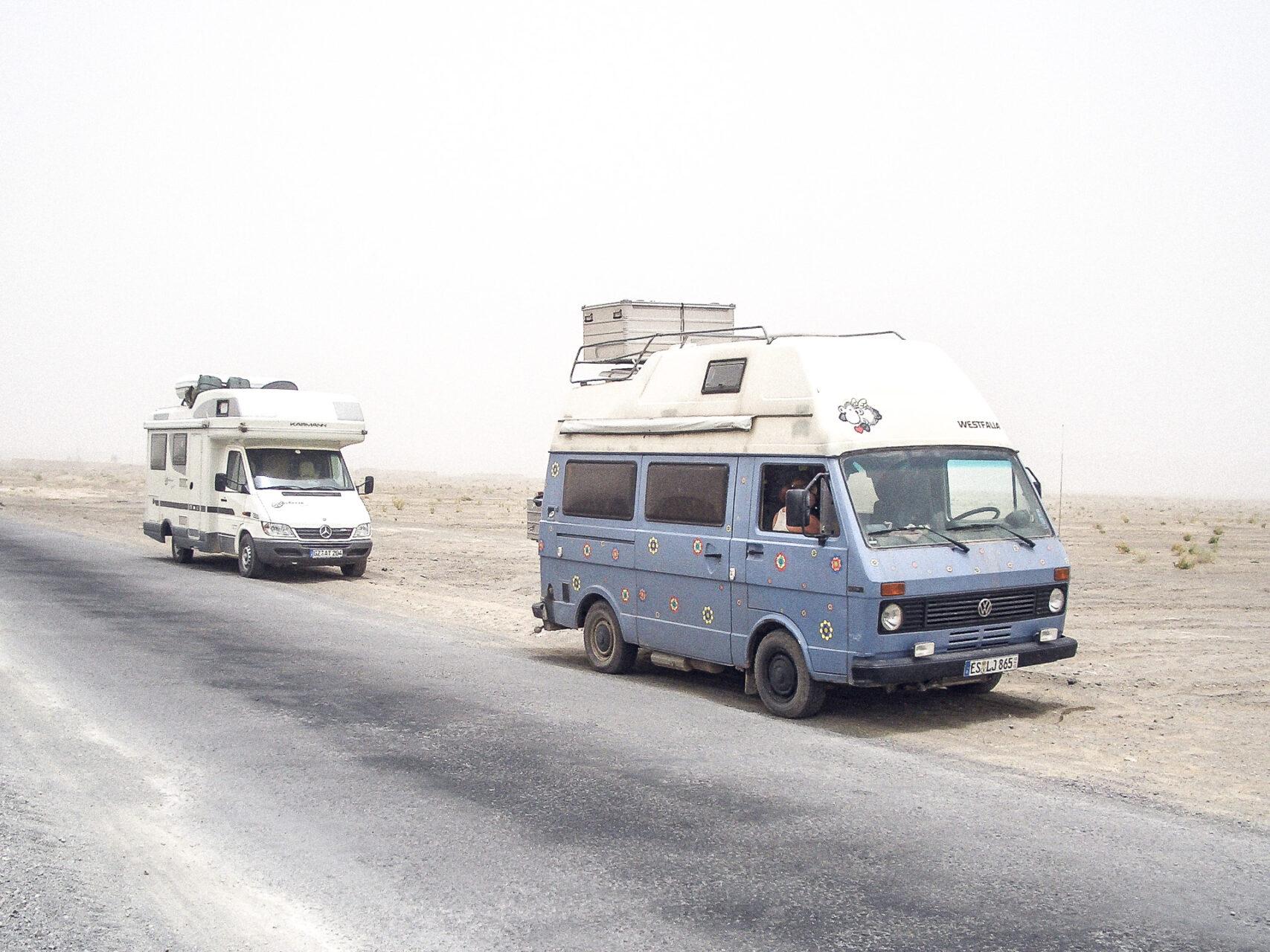 Wohnmobil in Pakistan