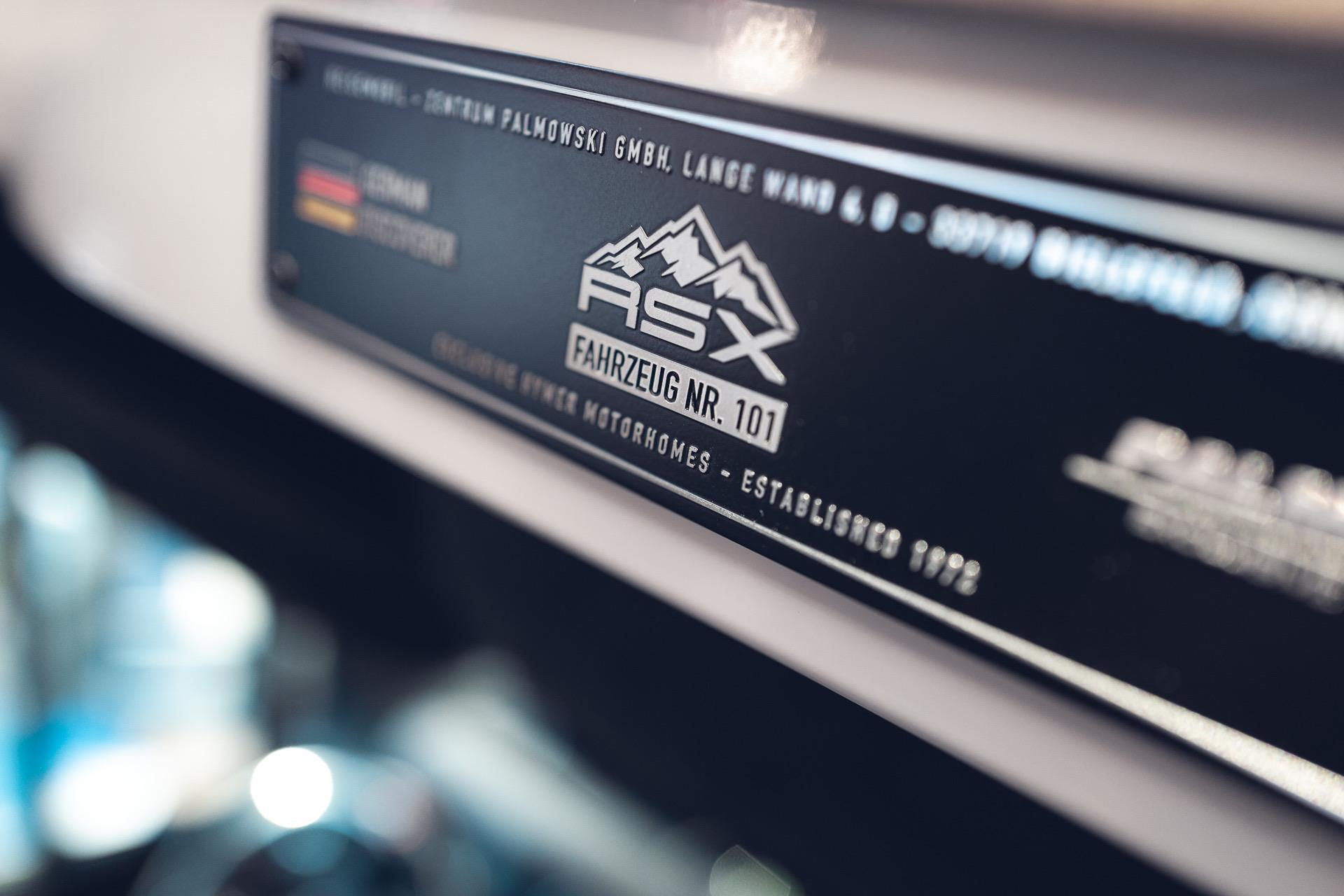Fahrzeugnummer RSX