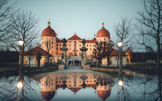 Mit dem Wohnmobil nach Moritzburg bei Dresden in Sachsen