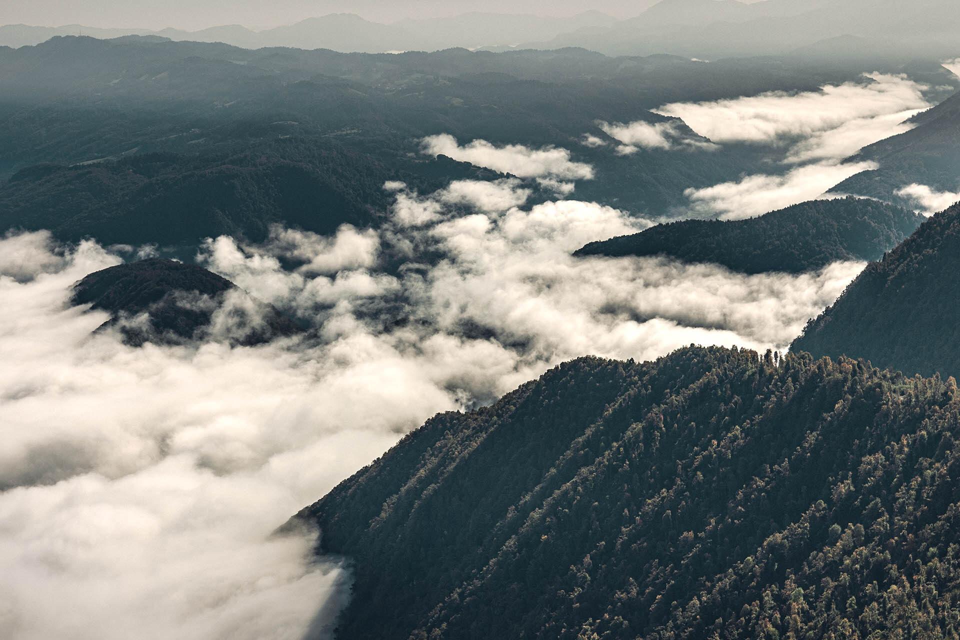Ueber den Wolken Sloweniens